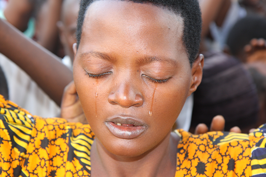 Woman Saved by Jesus in Uganda