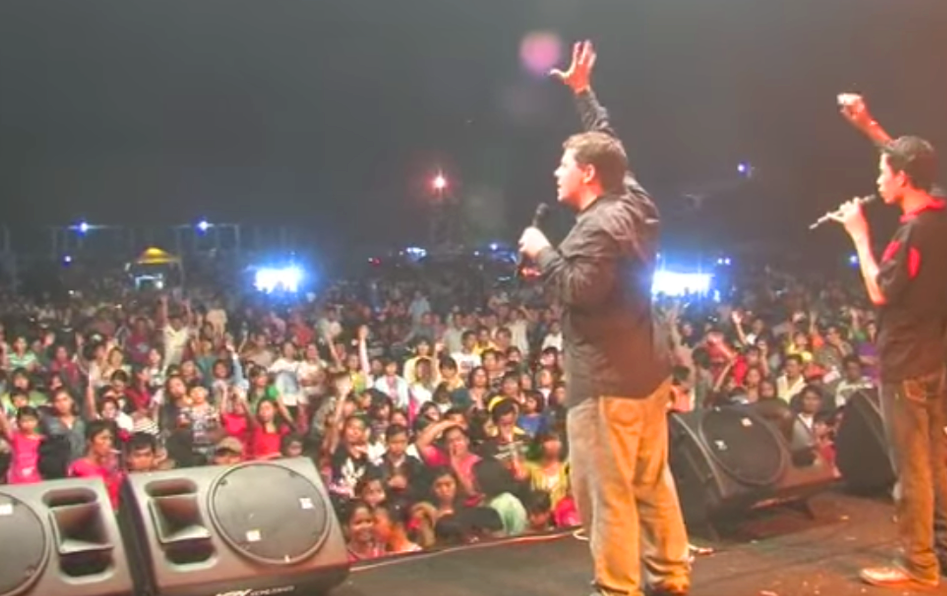 Evangelist Daniel King in Indonesia